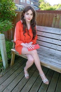 Lucy's Blog — Crossed legs Pictures | Outside Love this outfit, so adorable!...