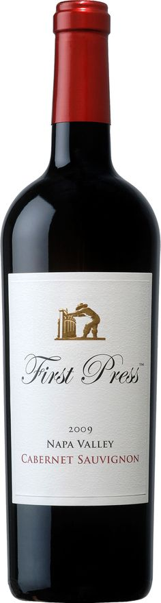 First Press Wine Cellars - Cabernet Sauvignon. Another one of my recent go-to wines for everyday consumption.  World Market sells it for $18 and it is worth every penny.  Smooth, with no bitter tanic after-taste. LOVE!