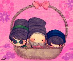 cuties in a basket