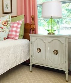 Bedside Design In A Colorful Room Beth Hart Designs Small