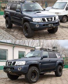 Nissan Patrol Y61, Patrol Gr, Nissan 4x4, Adventure Car, Bull Bar, Expedition Vehicle, 4x4 Trucks, Future Car, Old Cars