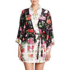 Natori Martinique Kimono (205 CAD) ❤ liked on Polyvore