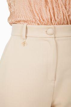 Pantalone vita alta sartoriale