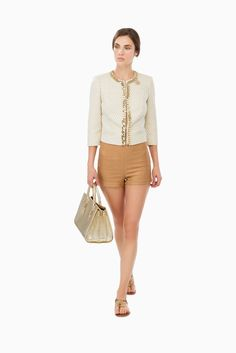 Giacca jaquard a losanga - CAPISPALLA su Digital Store ELISABETTA FRANCHI - la Boutique online ufficiale 407
