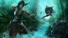 The Wild Hunt ( Tomb Raider Reborn )  by ~isaiahpaulcabanting  Contests / 2013 / Tomb Raider Reborn Contest	©2013 ~isaiahpaulcabanting