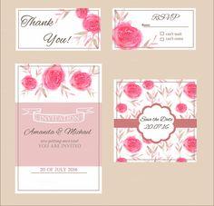 Floral Invitation Set - Invitations - 2
