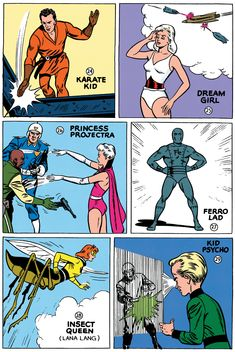 Legion of Superheroes by Curt Swan