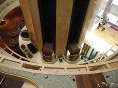 Elevadores Hotel Marina Mandarin SIngapore