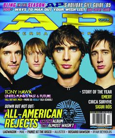 The All-American Rejects – Issue 209 – Dec 2005
