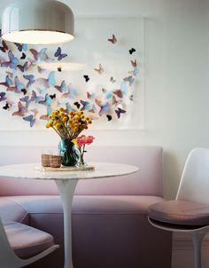 Bank bij de eettafel creëert ruimte in jouw eethoek   Interieur design by nicole & fleur