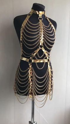 Sexy Outfits, Cute Outfits, Fashion Outfits, Festival Looks, Dance Dresses, Sexy Dresses, Body Chain Jewelry, Character Outfits, Diy Clothing