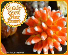 Candy Corn Star Burst | MomOnTimeout.com