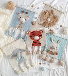 277 отметок «Нравится», 5 комментариев — Crochet Lover Rachel (@crochet.lovers.united) в Instagram: «These pretty wall hangings by @alena_anella are the perfect decorations for any baby nursery Such…»