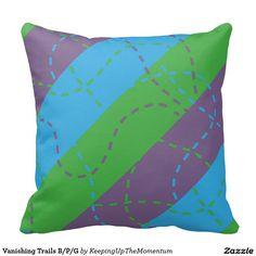 Vanishing Trails B/P/G Pillows