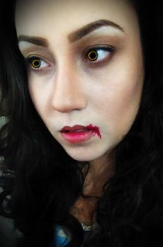 Bella Swan Vampire transformation makeup.