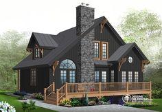 Détail du plan de Maison unifamiliale W2957