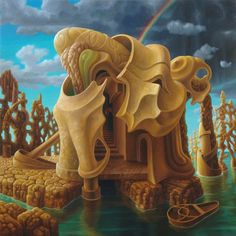 Satoshi Sakamoto was borne in the Aomori prefecture, Japan. He studied oil painting in a Tokyo university. Satoshi is different from many of the perceived norms of Japanese society. Dynamic Painting, Psy Art, Surrealism Painting, Japanese Artists, Fantastic Art, Psychedelic Art, Horror Art, Surreal Art, Beautiful Artwork