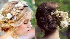 corona de flores para el cabello - Buscar con Google