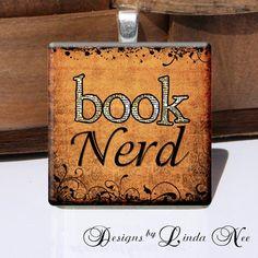 DIY Jewelry, magnet, button, etc. NEW- BOOK Nerd (2 x 2 Inch) Images Buy 2 Get 1 Sale - Digital Collage Sheet scrapbooking printable stickers card ephemera.