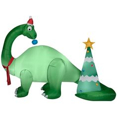 dino at menards home depot mexico christmas inflatables inflatable christmas decorations yard decorations - Home Depot Inflatable Christmas Decorations