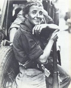 Mujer miliciana, Guerra civil española 1936-39