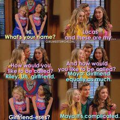 """#GirlMeetsWorld 3x01 """"Girl Meets High School: Part One"""""""