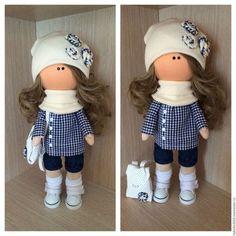 Куклы тыквоголовки ручной работы. Ярмарка Мастеров - ручная работа. Купить Текстильная кукла. Handmade. Текстильная кукла, трикотаж кашкорсе