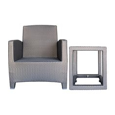 Viyet - Designer Furniture - Seating - JANUS et Cie Ascona Lounge Chair With Side Table