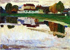 Wassily Kandinsky - Nymphenburg, 1904