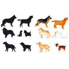 Dog Silhouette Set 1 Use with ROYAL ICING TECHNIC