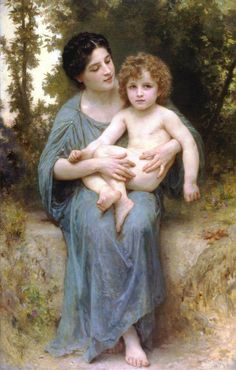 Mary & Jesus by Bouguereau 04