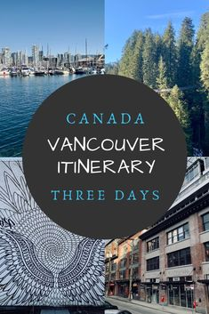 Vancouver Itinerary: Planning for the Perfect 3 Days in Vancouver Canada. Explore Stanley Park and the city on bike or walking, check out Vancouver nature, find the best views over Vancouver and discover Vancouver's trendy neighbourhoods! Vancouver Vacation, Vancouver Travel, Visit Vancouver, Vancouver Island, Canada Vancouver, Downtown Vancouver, Ottawa Canada, Seattle, Alberta Canada