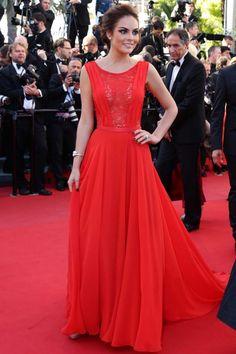 Ximena Navarrete at the Zulu Premiere, Cannes Film Festival 2013