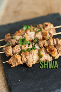 Shwa - marokkaanse lamsspiesjes | foodblogswap