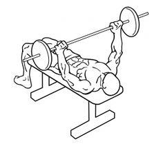 Wide Grip Bench Press 1