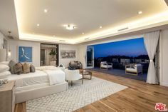 Luxury Rooms, Luxurious Bedrooms, Luxury Living, Dream Rooms, Dream Bedroom, Future House, Bel Air Road, Big Bedrooms, Indoor Outdoor Living