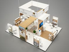 Exhibition Stand by Senthil Kumar at Coroflot.com