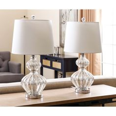 Glass Table Lamps - A Collection by Sandy - Favorave