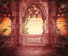 background backdrop palace royal castle fantasy google interior backgrounds backdrops royalty wedding scenery sunset studio clip