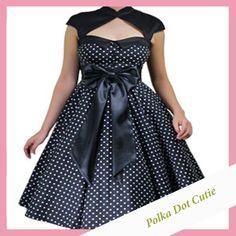 black-polka+dot+dress.jpg (1000×1000)