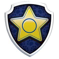 Paw Patrol Png, Paw Patrol Badge, Paw Patrol Party, Paw Patrol Birthday, Boy Birthday, Chase Paw Patrol Costume, Chase Costume, Insignia De Paw Patrol, Escudo Paw Patrol