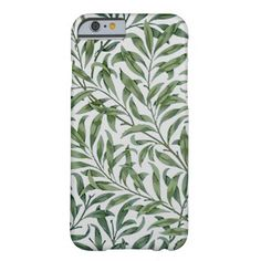 Green Weeping Willow Leaves - iPhone Case Barely There iPhone 6 Case