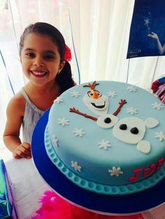 New ideas birthday cake fondant girl simple party ideas Frozen Birthday Cake, Birthday Cake Girls, Birthday Ideas, Fourth Birthday, Birthday Cakes, Bolo Olaf, Fondant Girl, Cake Fondant, Fondant Olaf
