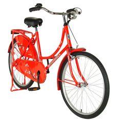 Hollandia New Oma Bicycle, Silver