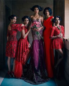 signe vilstrup vogue1 Signe Vilstrup Captures Wedding Style for Vogue India November 2013
