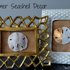 Summer Seashell Decor
