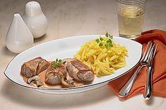 Filet im Speckmantel mit Spätzle (Rezept mit Bild) | Chefkoch.de