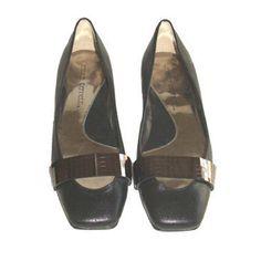 Jessica Bennett Knot Flat Black Leather Shoes New 8M #JessicaBennettKnox #Flats #Casual