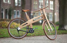 Another beautiful Wooden bike by Jan Gunneweg Source - https://www.facebook.com