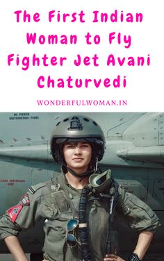 Avani Chaturvedi, is one of the first female fighter pilots of India. She hails from MP, India. She was appointed as the first combat pilot along with two of her cohort, Mohana Singh, and Bhawana Kanth. Female Fighter, Fighter Pilot, Fighter Jets, Female Pilot, Female Soldier, Indian Army Quotes, Army Women Quotes, Indian Army Special Forces, Indian Army Wallpapers